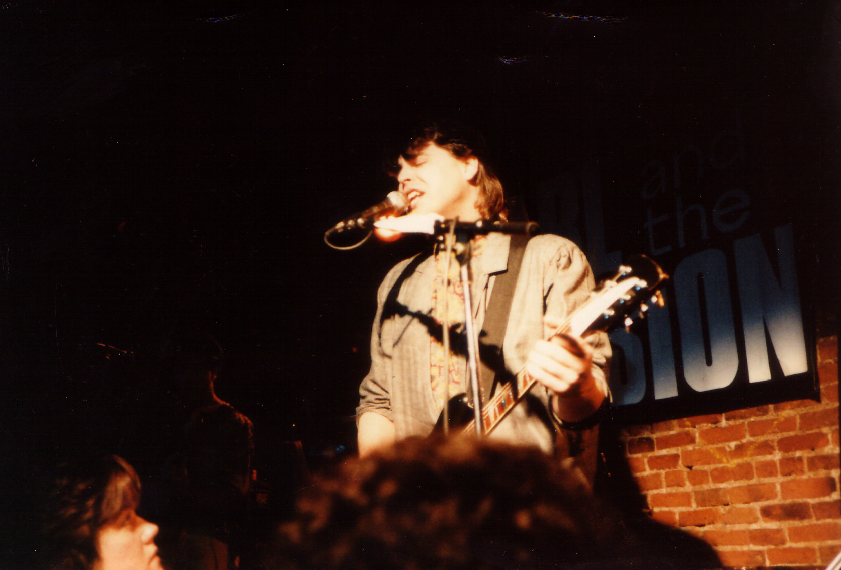 Carl and the Passion, The Bitter End, NYC 1988