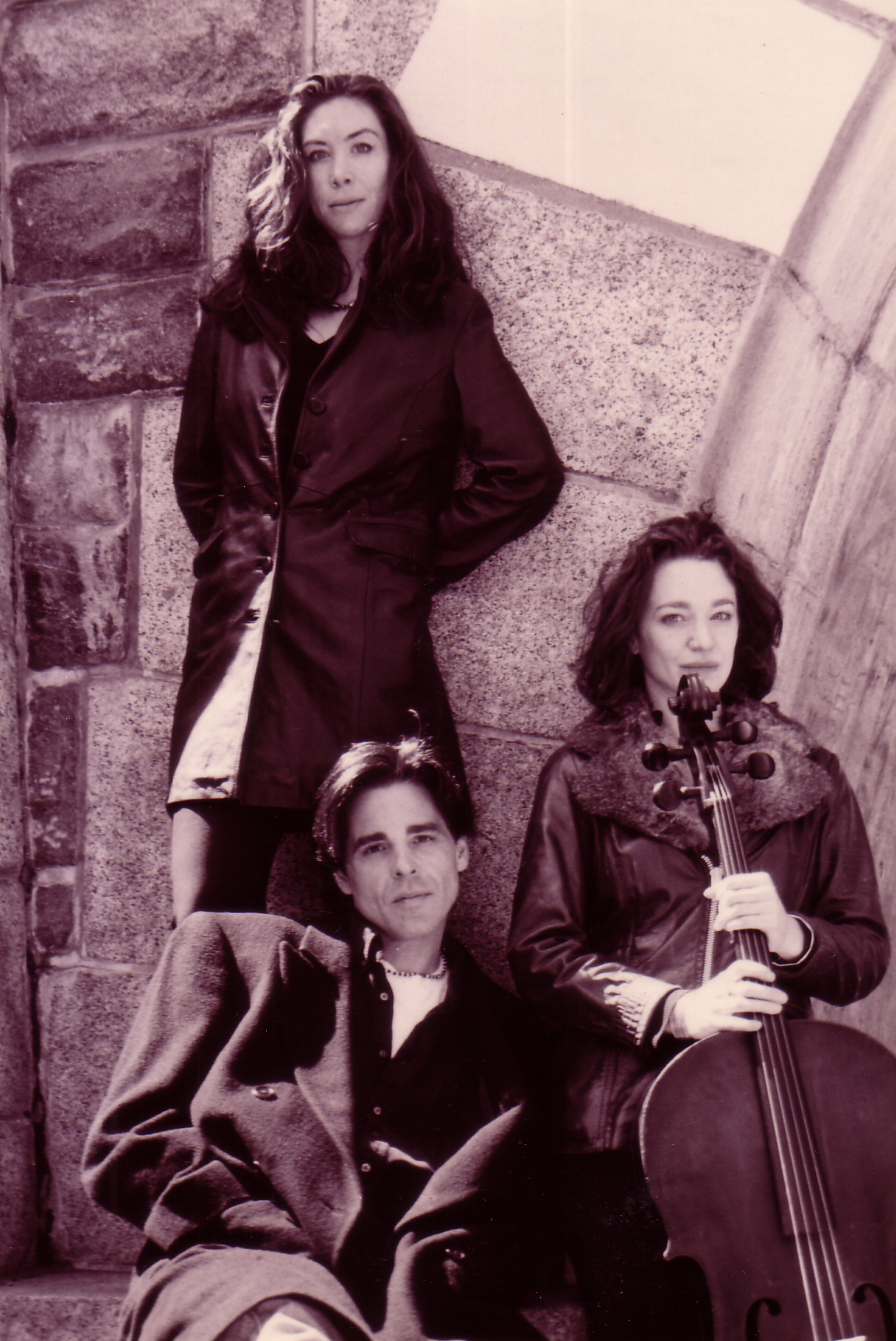 The short lived Sapphire Project w/ Laura MacLean & Amy Kimball (cello) 2000